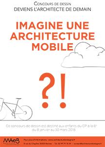 Concours de dessin «Deviens l'Architecte de demain»